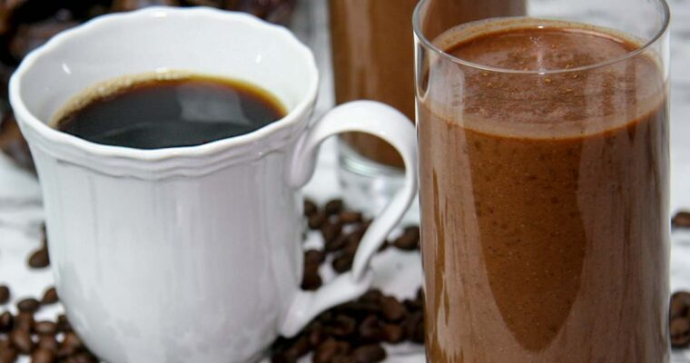 Mayan Mocha Smoothie (Coffee & Chocolate)