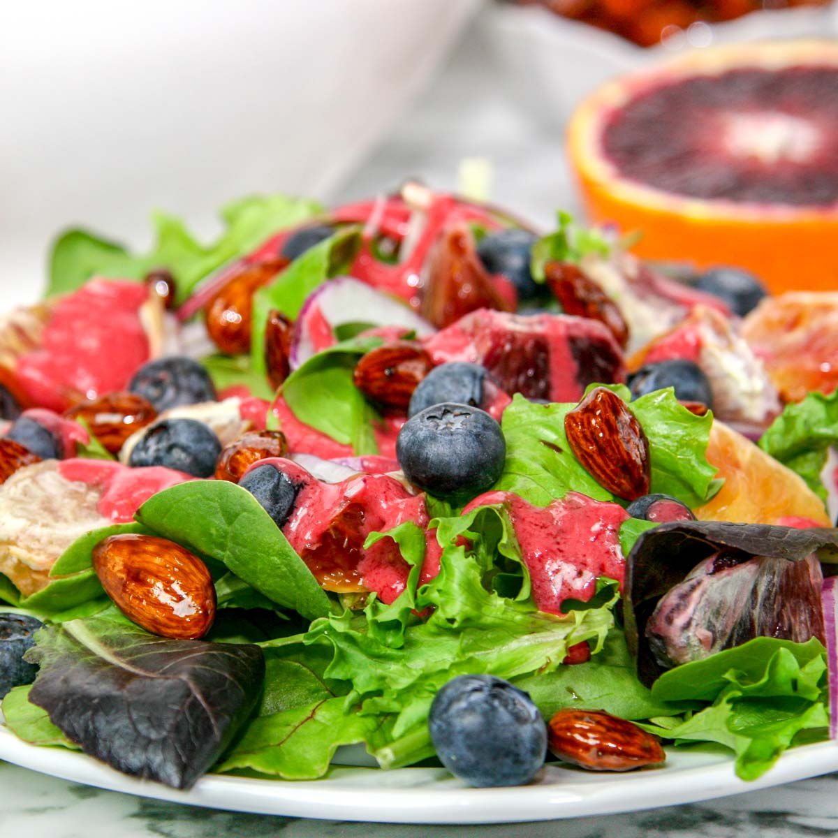 Citrus Berry Spring Salad with Vinaigrette
