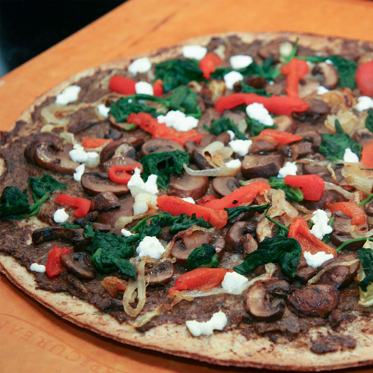 Quick and Easy Roasted Vegetable Pizza