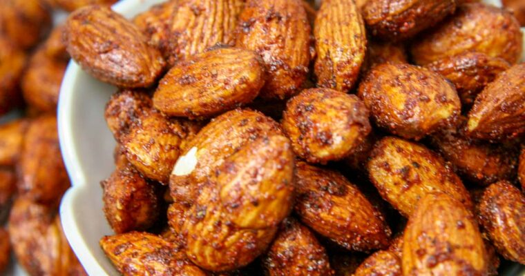BBQ Almonds – A Smoky Savory Snack
