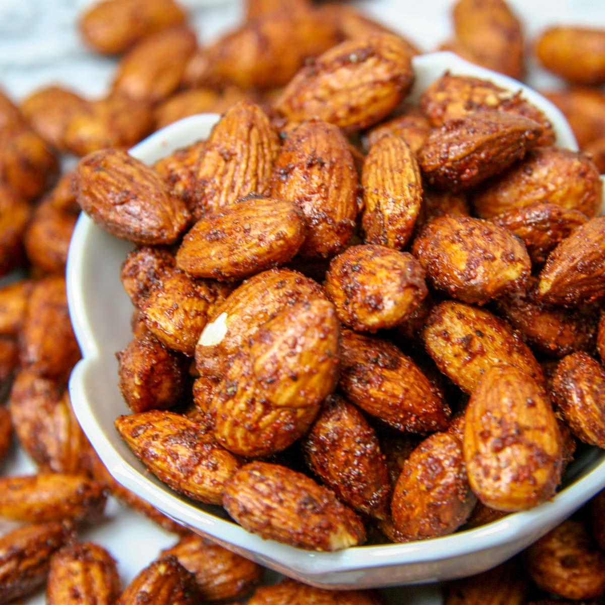 BBQ Almonds – A Smoky Savory Snack