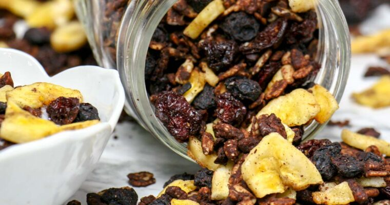 Chocolate Berry Banana Granola