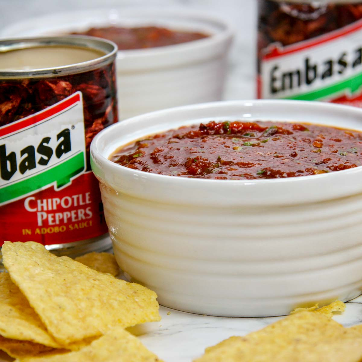 Chipotle Salsa- The Perfect Smoky, Spicy Dip